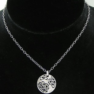 Franco Pianegonda Pianegonda Tenderlove Pendant Necklace Sterling 925 16.5 Pierced Roses