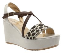 FRED SEGAL FEET Leopard BROWN Sandals