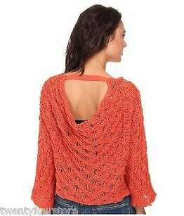 Free People Cowl Back Pullover Sweater