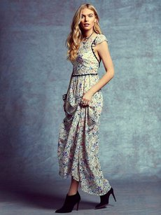 Free People Cut Out Back Dress