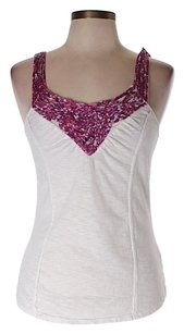 Free People Embroidered Crochet Top