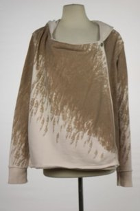 Free People We The Womens Hooded Cotton Casual Jacket Sweater