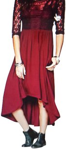 Plum Maxi Dress by Free People La Lace