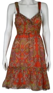 Free People Womens Floral Dress