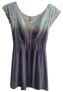 Free People Top green/brown
