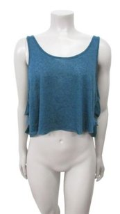 Free People Super Crop Tank W Top teal