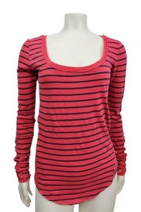 Free People Striped Long Sleeve Tunic