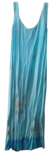 blue ombre Maxi Dress by Freestyle