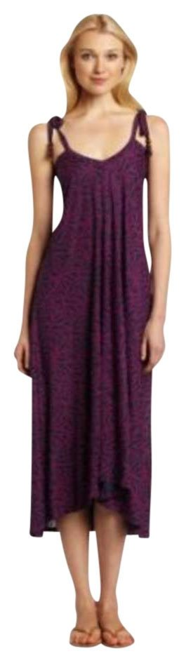 French connection purple maxi dress