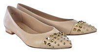French Sole Fsny Womens Pointed Pale Pink Flats