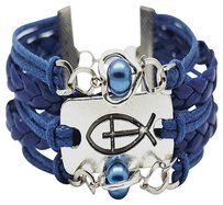 Freshwater Pearl Blue Freshwater Pearl Bracelet Multilayer Freshwater Wristband