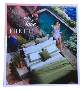 Frette Frette Bed Linens Catalog Lookbook