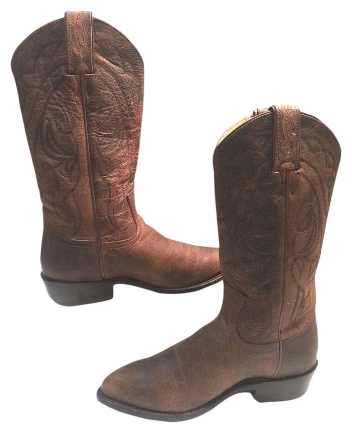 Frye Brown Billy Stitch Boots/Booties Size US 7 Regular (M, B)