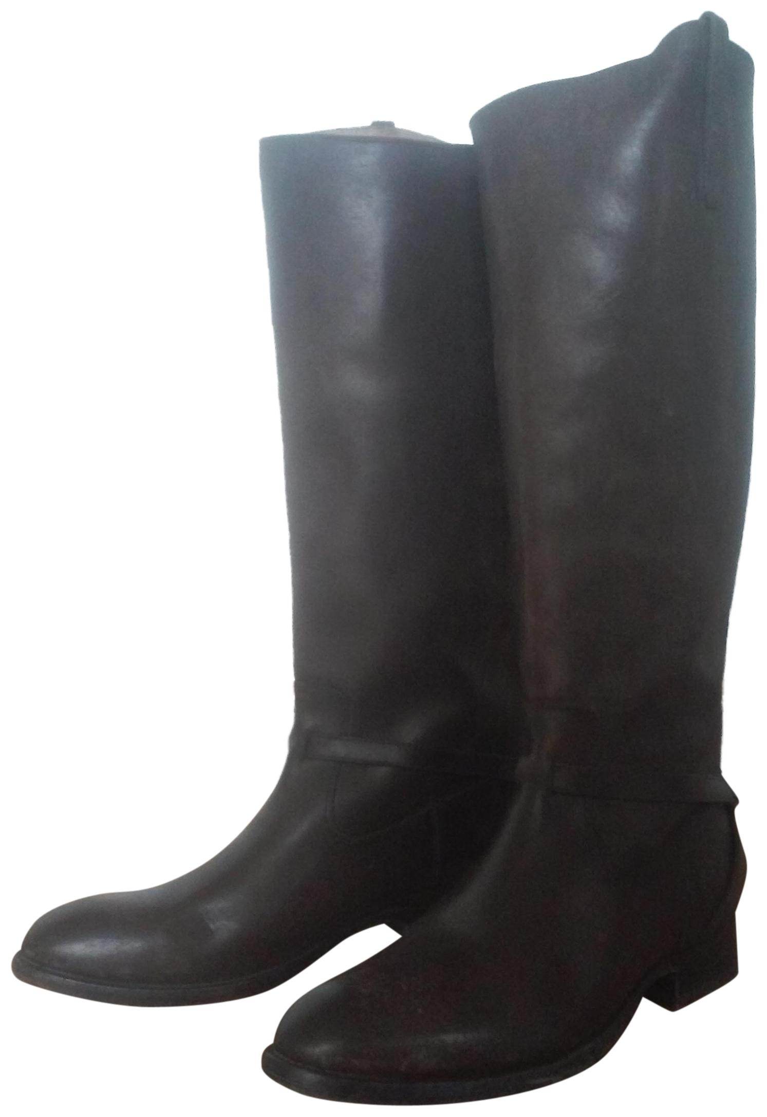 frye Marron  lindsey bottes / 10 bottines taille 10 / tôles ordinaires (m, b) 6f2a28