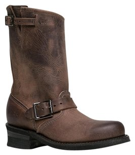 Frye Closed-toe Fall2p Engineersmoke-6.5 Brown Boots