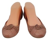 Frye Womens Solid 7m Leather Casual Loafers Slip On Mauve Flats