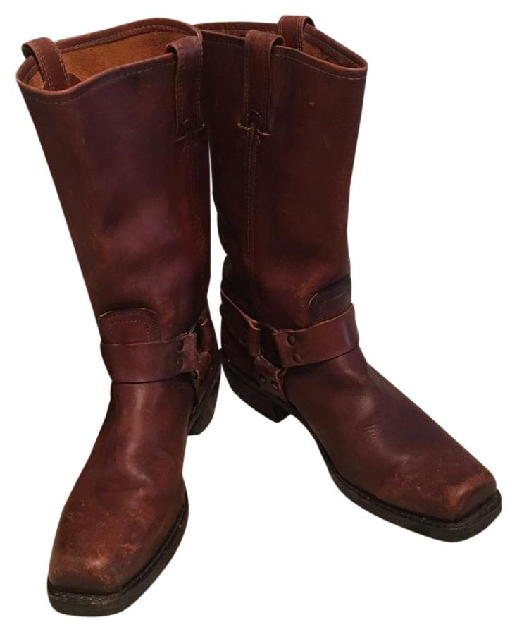 Frye Whiskey Harness 12r Distressed 150th Anniversary Special Edition Boots/Booties Size US 10 Regular (M, B)
