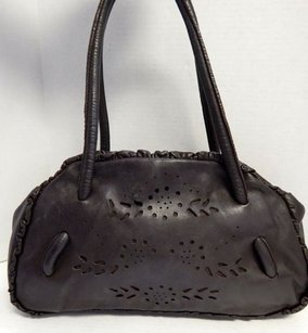 Furla Italy Leather Top Shoulder Bag