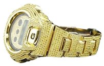 G-Shock G-shockg Shock 10ct. Yellow Simulated Diamond Custom Bezel Joe Rodeo Band Watch