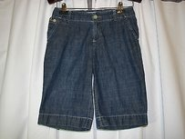 Gap Jeans Womens 0 Cut Off Shorts Blue