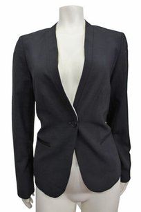 Gap Gap Black Cream Trim Blazer