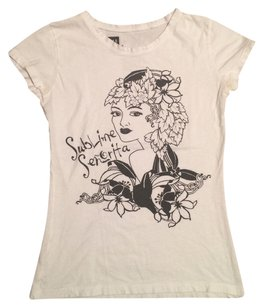 Gap Sublime Senorita T Shirt White