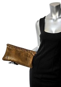 GERARD DAREL Greenbrown Browns Clutch