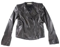GERARD DAREL Sheep Leather Motorcycle Jacket