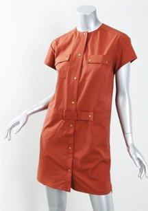 GERARD DAREL short dress Orange Womens Rust on Tradesy