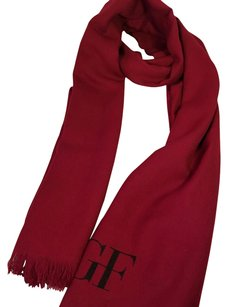 Gianfranco Ferre GF Ferre Red Big showl & muffler