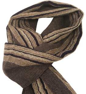 Gianfranco Ferre simple Grey wool muffler...