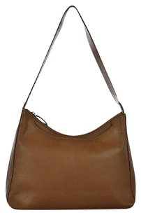 Giani Bernini Womens Solid Leather Casual Shoulder Bag
