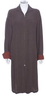 Giorgio Armani Duster Robe Couture Cape Trench Coat