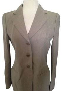 Giorgio Armani Giorgio Armani Tan Suit Button Skirt W Matching Shell Tank Guc