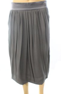 Giorgio Armani New With Defects Pleated Silk Skirt