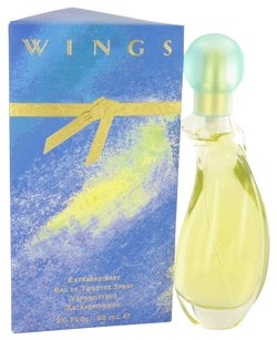 Giorgio Armani Wings By Giorgio Beverly Hills Eau De Toilette Spray 3 Oz