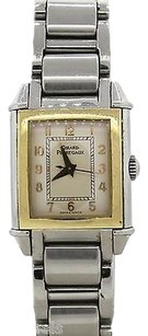 Girard-Perregaux Girard-Perregaux Vintage 1945 18k Gold Bezel Stainless Steel Ladies Watch