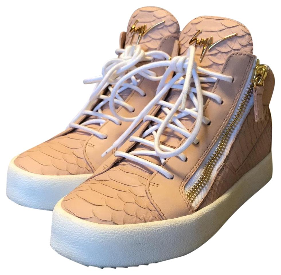 Giuseppe Zanotti Blush London Sneakers Size EU 38 (Approx. US 8) Regular (M, B)