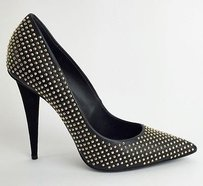 Giuseppe Zanotti Studded Leather Ester Heels 38eur Max060316 Black Pumps