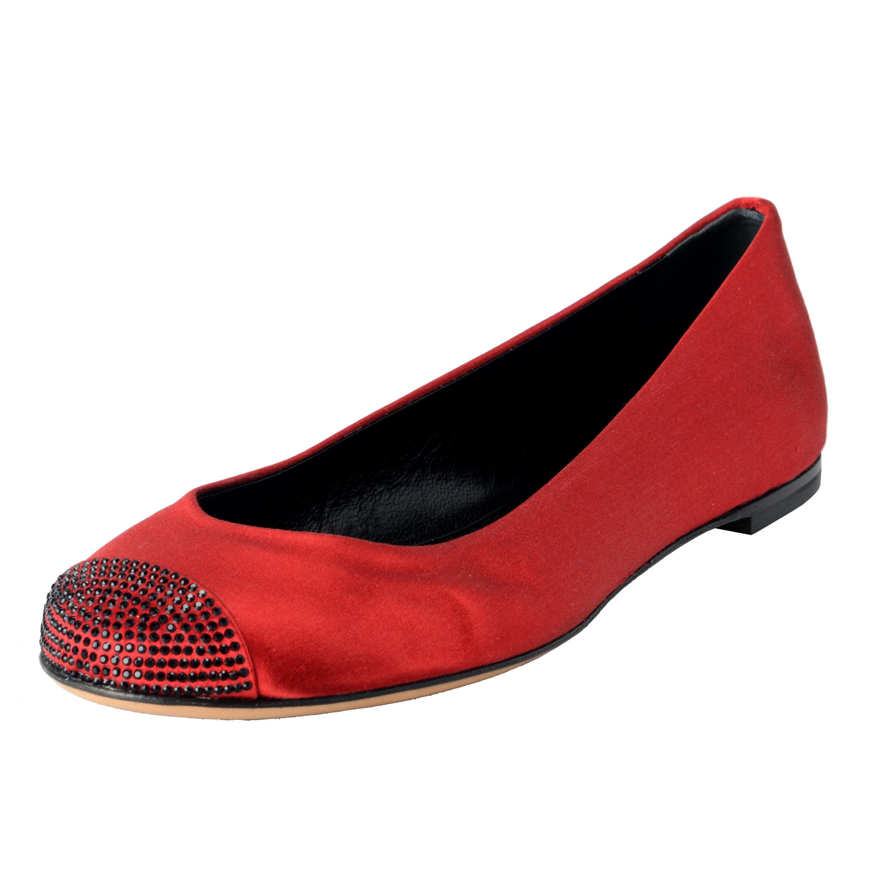 Cheap Comfortable Marketable Sale Online Giuseppe Zanotti Leather Ballet Flats Huge Surprise Outlet In China AF05edN9w