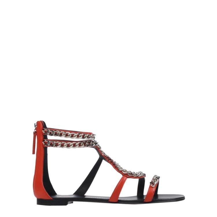 27ed08ce7fbd Giuseppe Zanotti Red Red Red New Sandals Size EU 37 (Approx. US 7 ...