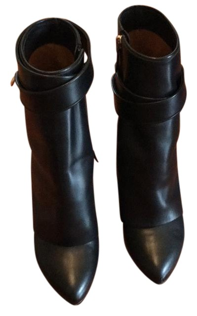 f26c6e1def81 Givenchy Black Lock Mid-calf Wedge Boots/Booties Size US 6 Regular (M