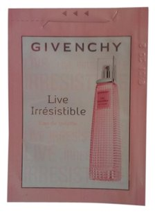 Givenchy Givenchy Live Irresistible Eau de Toilette EDT Fragrance Sample Packet