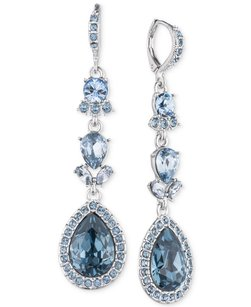Givenchy Givenchy Pear Halo Double Drop Earrings