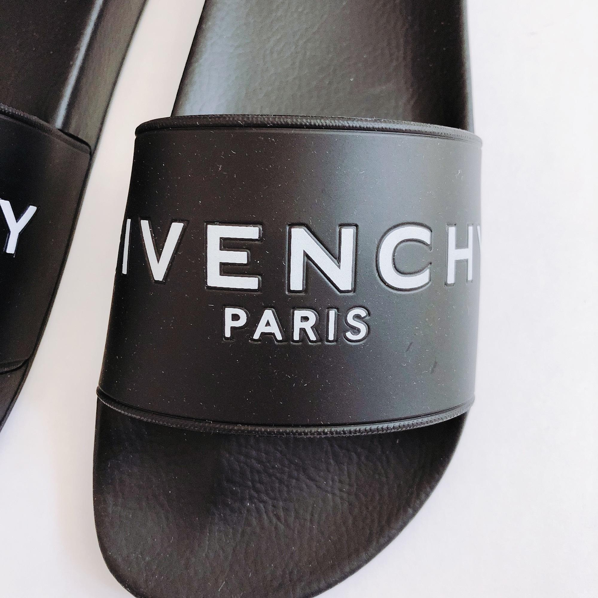 4768248a9d95 ... Gentleman Lady   Givenchy Logo Printed Rubber Slide Sandals Size Size  Size US 9 Regular ...