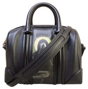 Givenchy Small Lucrezia Satchel in black