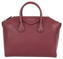 Givenchy Textured Leather Classic Pebbled Tote in Burnt Orange
