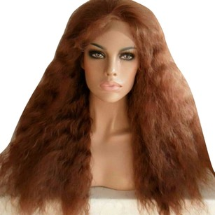 Goorin Bros. Big Brown Golden Beauty Lace Front Wig 22-24 inches long!!