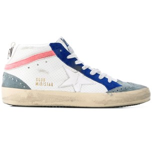 Golden Goose Deluxe Brand White, Blue, Athletic