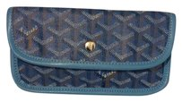 Goyard Goyard Blue Multicolor Cosmetic/Purse Bag